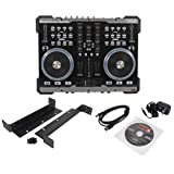 American Audio VMS2 USB MIDI DJ Controller With Built-In Soundcard Touch Scratch Wheel Virtual DJ LE software and 3-Band EQ With Rotary Kills