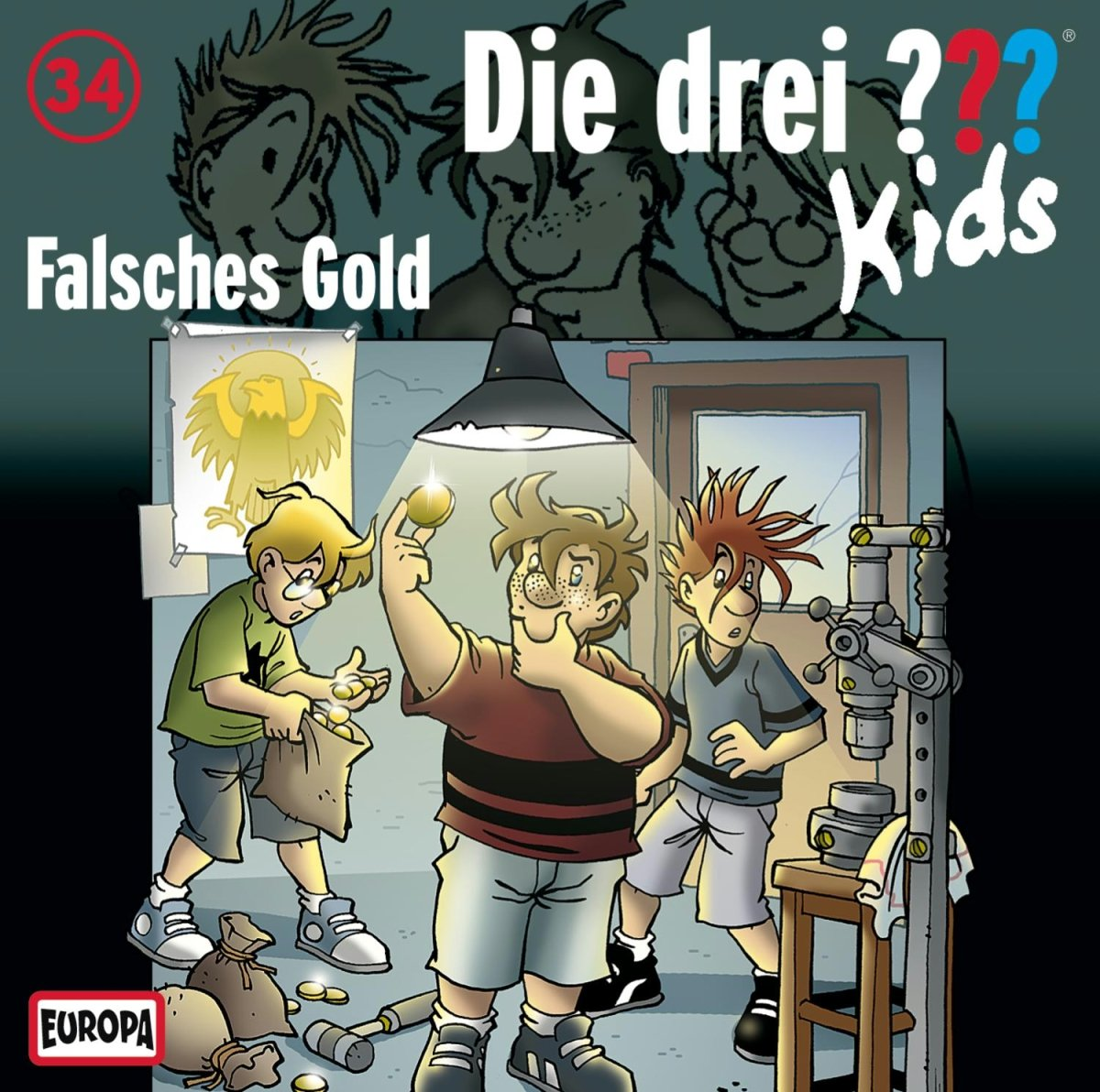Die drei ??? Kids - Falsches Gold (Folge 34)