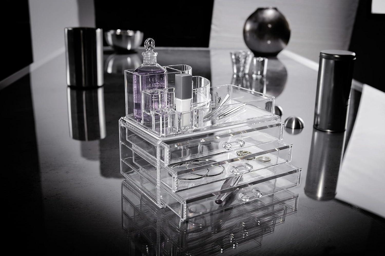 Ordinare co cosmetic organizer 3 cassetti porta trucchi - Porta trucchi professionale ...