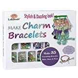 LolliBeads (TM) Make Charm Bracelets Kits 800 pcs Premium Bracelet Jewelry Making Kit Arts and Crafts for Girls Best Birthday/Christmas Gifts/Toys/DIY for Kids Friendship Bracelets Maker (Color: charm_bracelet_kit)