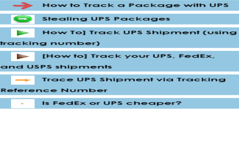 Check Out Ups Tracking Tracking NumberProducts On Amazon!