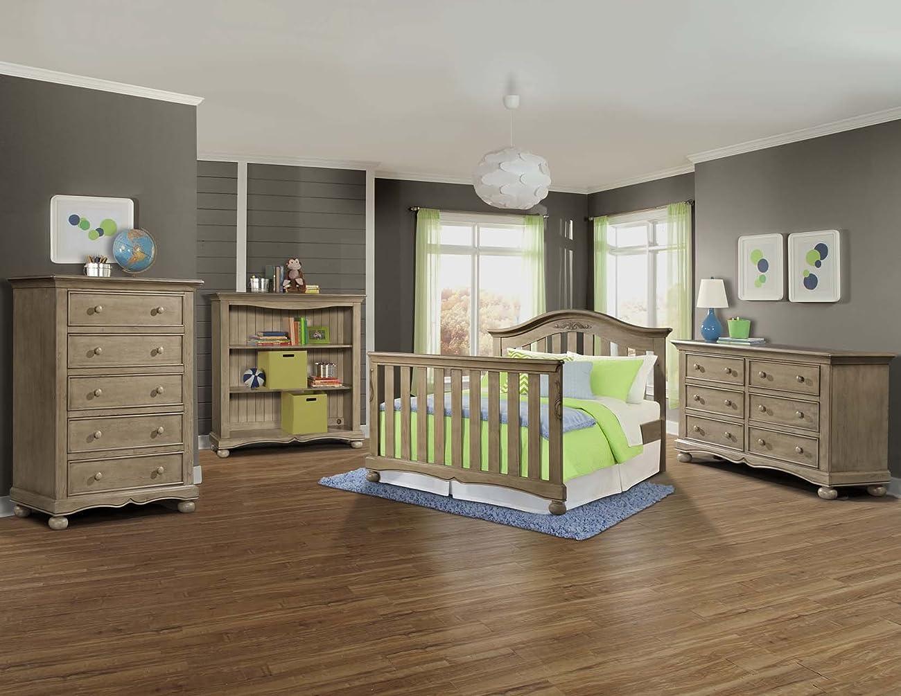 Westwood Design Meadowdale 4-in-1 Convertible Crib, Vintage 2
