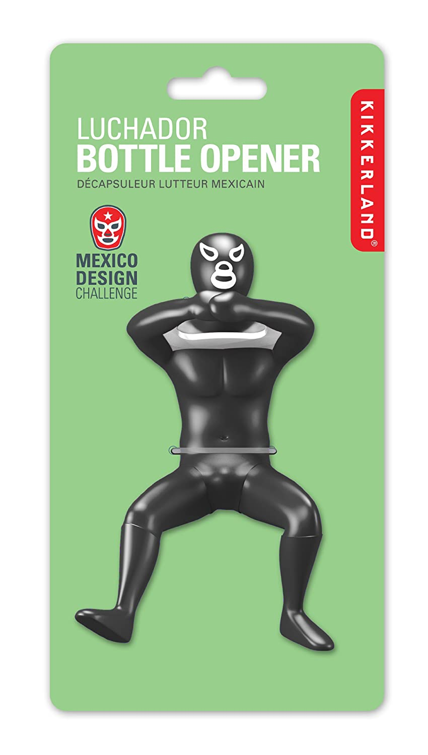 Kikkerland luchador bottle opener assorted colors and styles new free shippi ebay - Wrestler bottle opener ...