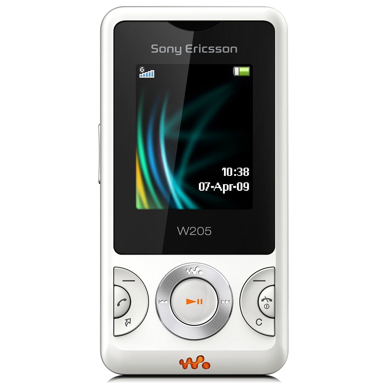 T�l�phone GSM SONY ERICSSON W205 BLANC