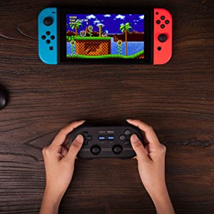 8Bitdo N30 Pro 2 (M Edition) Wireless Controller Dual Classic Bluetooth Video Game Joystick Gamepad for Android/PC/Mac OS/Switch (Color: (M Edition))