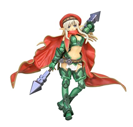 [Amazon.co.jp limited] Legacy OF Revoltech Queen's Blade combat instructor Arein LR-019 (ABS & PVC with painted action figure / special ribonucleic container)
