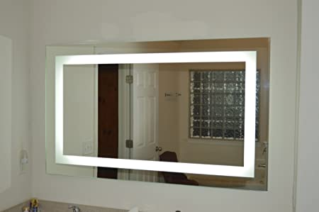 "Lighted Vanity Mirror LED MAM86036 Commercial Grade 60"" Wide x 36"" Tall"