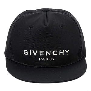 [ジバンシィ]GIVENCHY キャップ BPZ001K0CE CAP FLAT 001 BLACK [並行輸入品]