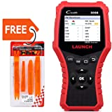 LAUNCH CR3008 OBD2 Code Reader/Scan Tool for 10 Obd2 Mode Check Engine Live Data I/M Readiness Smog Misfire Battery-Free Update (Color: CR3008)