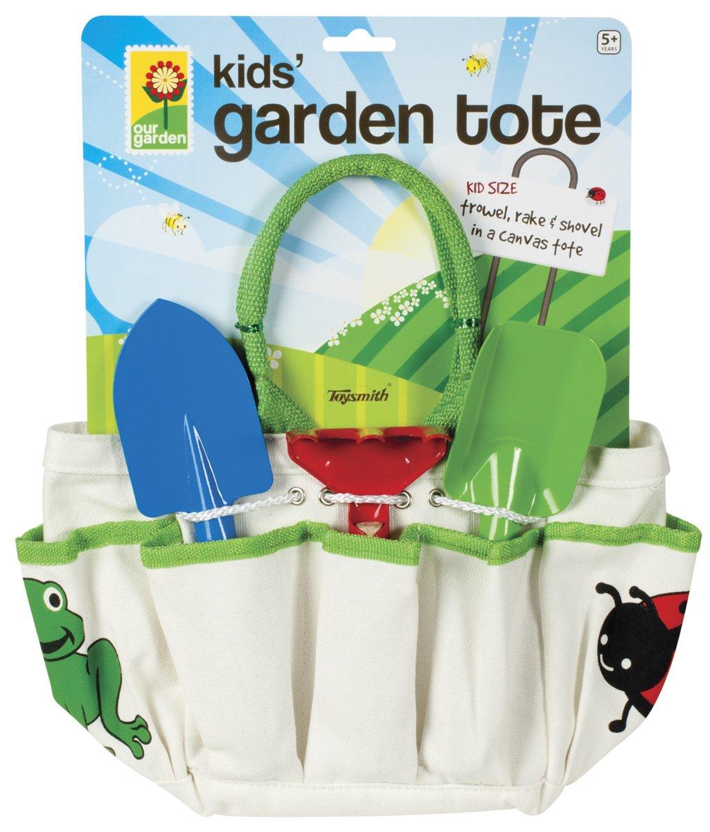 Toysmith Kids Garden Tote Playset