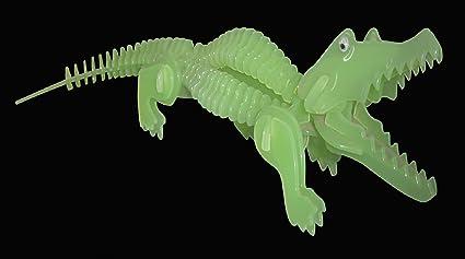 Maquette - Alligator (brille dans le noir) - 94 pièc. - Puzzled