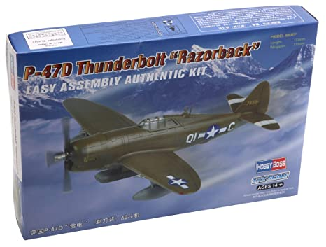 Hobby Boss 1/72 P-47D Thunderbolt Razorback # 80283