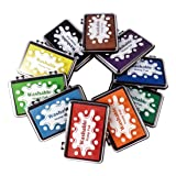 Best Stamp Craft Washable Ink Pad Stamps DIY Colors, 10 Colors Finger Ink pad, Craft Finger Stamp Pads for Rubber Stamps, Suitable on Paper, Scrapbooking, Nice Gifts for Kids and Children (10 Pack) (Color: 900-W-10)