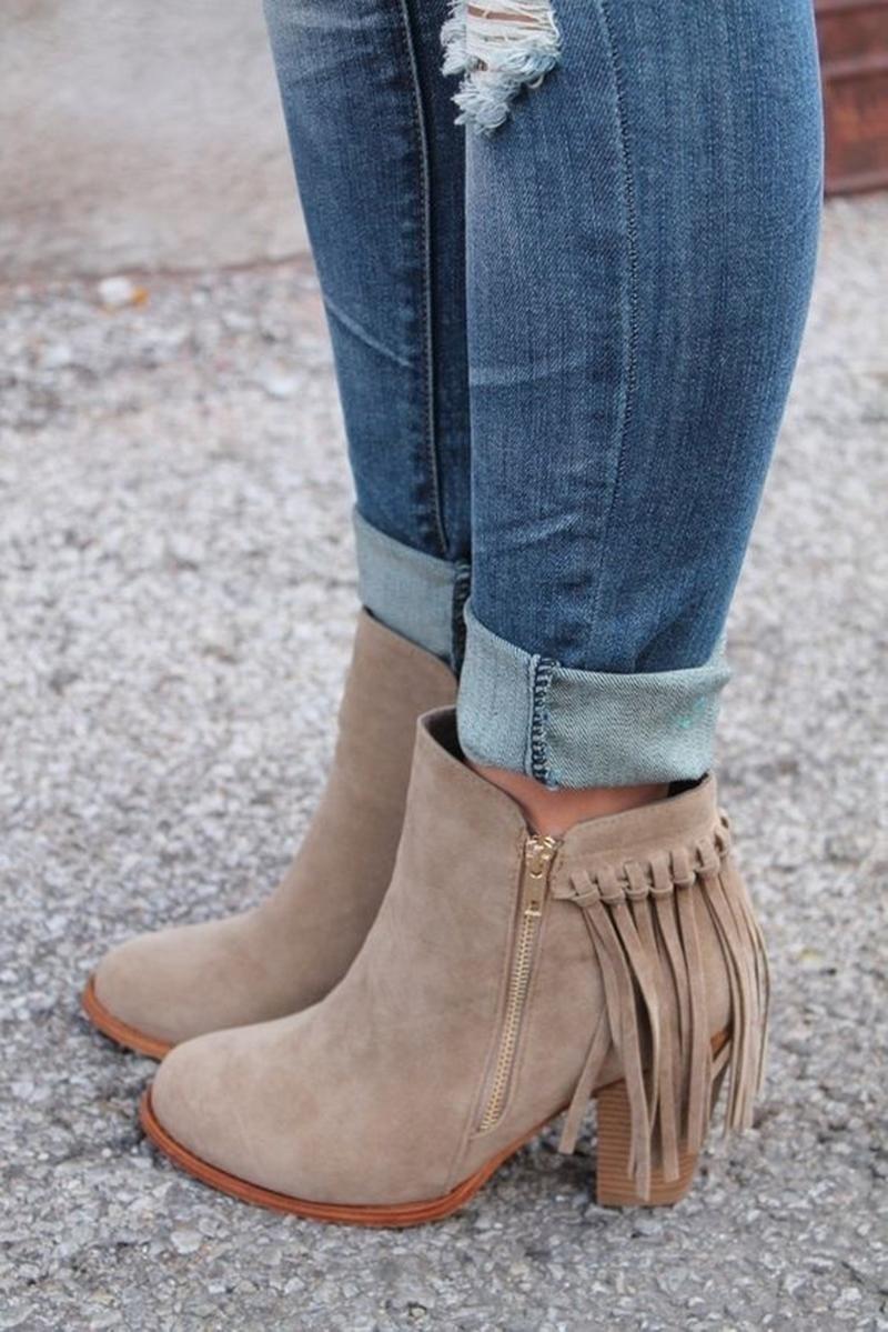 Febelle Fashionable Women Scrub Bigh-heeled Boots High Heel boots Women Hot Vintage Khaki & 38 5