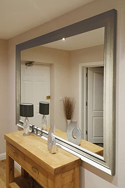 Howden Silver Full Length Mirror 206 x 145