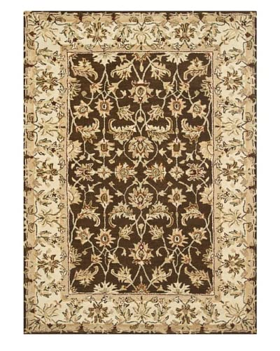 Loloi Elmwood Rug, Brown/Ivory, 9' 3 x 13' As You See
