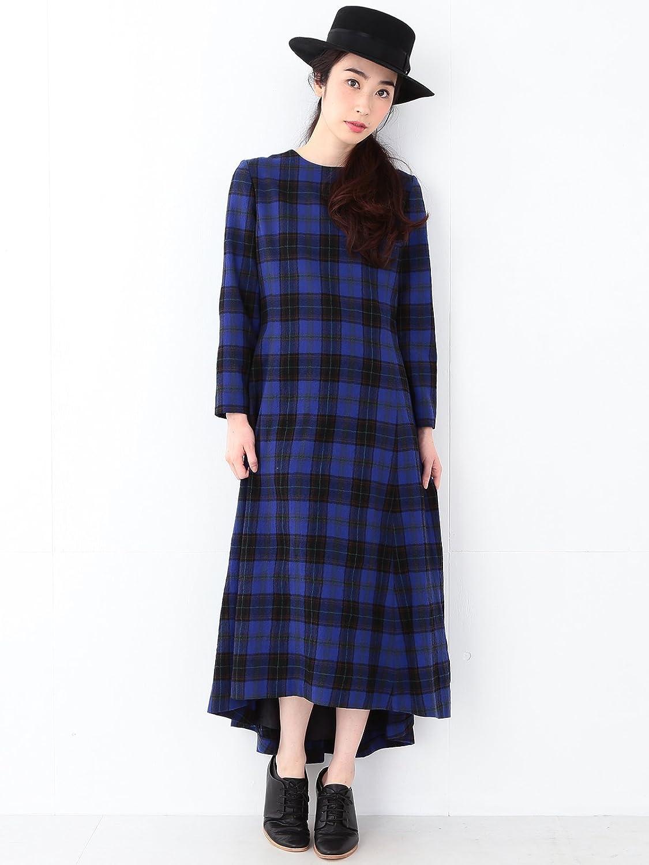 (レイビームス) Ray BEAMS RBS(アールビーエス) / チェック ロングテール ワンピース : 服&ファッション小物通販 | Amazon.co.jp