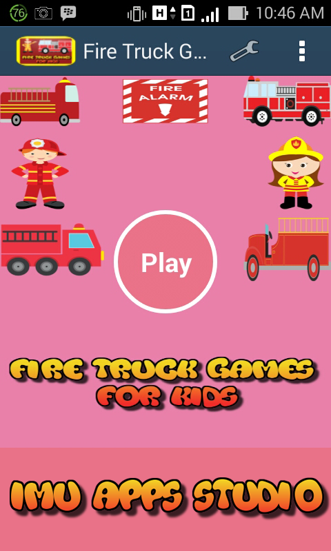fire truck games for kids free appstore for android. Black Bedroom Furniture Sets. Home Design Ideas