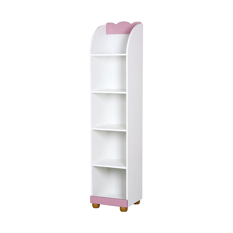 Baby Regal Stehregal für Mädchen Prinzessin rosa weiß günstig online kaufen