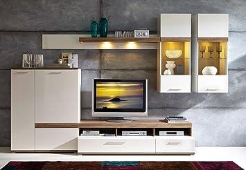 germania 3680 172 wohnwand 3680 denver 320 x 200 x 45 cm db476. Black Bedroom Furniture Sets. Home Design Ideas