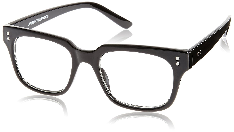 Amazon.co.jp: (アメリカンラグシー) AMERICAN RAG CIE オリジナルメガネ 204-AIR-5035W BK BK Black ONE SIZE: 服&ファッション小物通販