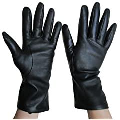 Fownes Cashmere Lined Lambskin Leather Gloves