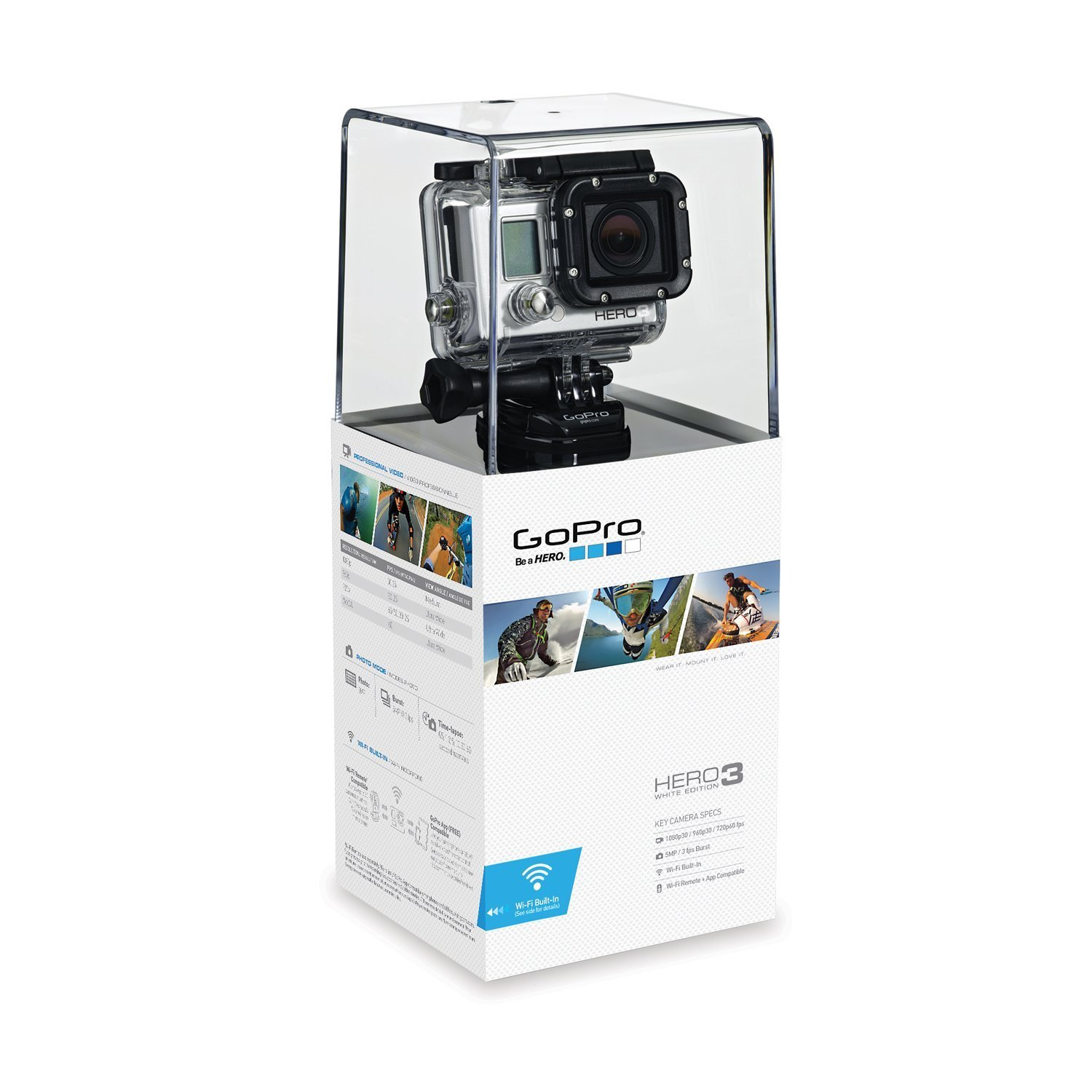 Gopro Hero 3 White Png Amazon com  GoPro HERO3