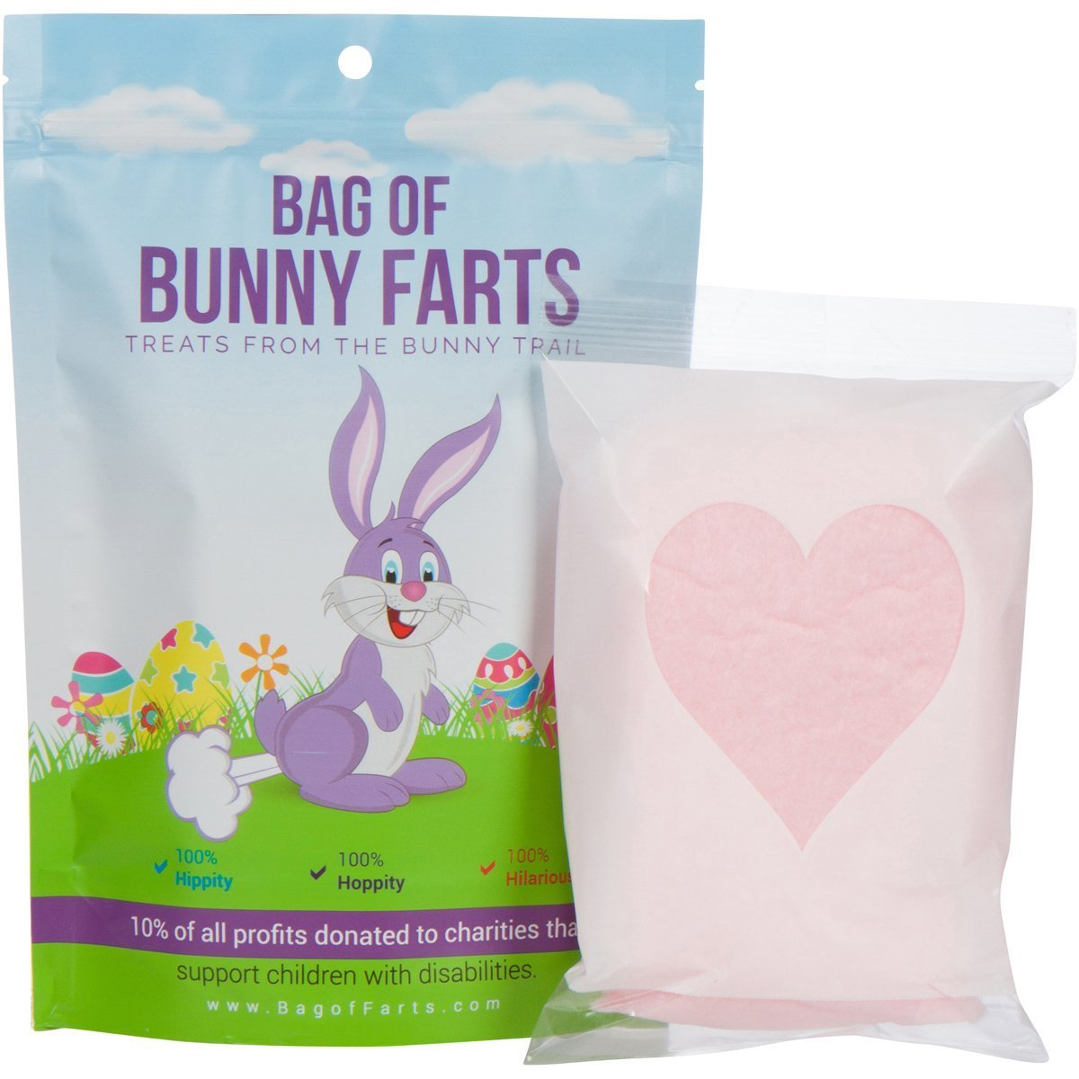 Easter Basket Cotton Candy Bunny Farts