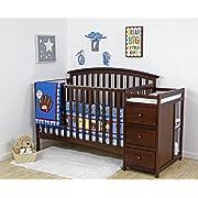 Sorelle Verona 4 In 1 Convertible Crib And Changer Baby