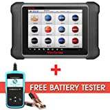Autel Maxisys MS906 Diagnostic Scanner with OE-level Vehicle Coverage for Reading Erasing Codes, Actuation Tests, Adaptations with Free Battery Tester (Tamaño: MS906+Battery Tester)