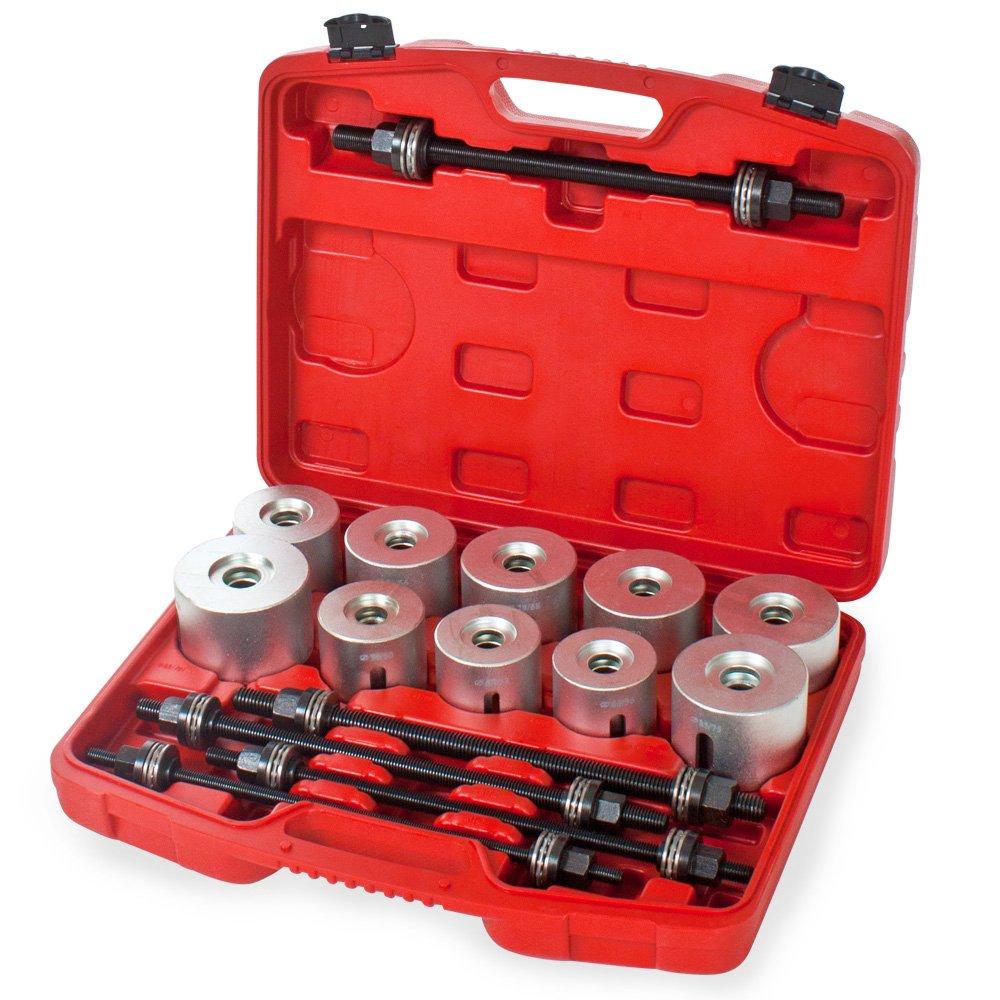 TecTake® 27 tlg. Silentlager Werkzeug Lager Achslager Demontage Montage Abzieher  BaumarktÜberprüfung und Beschreibung