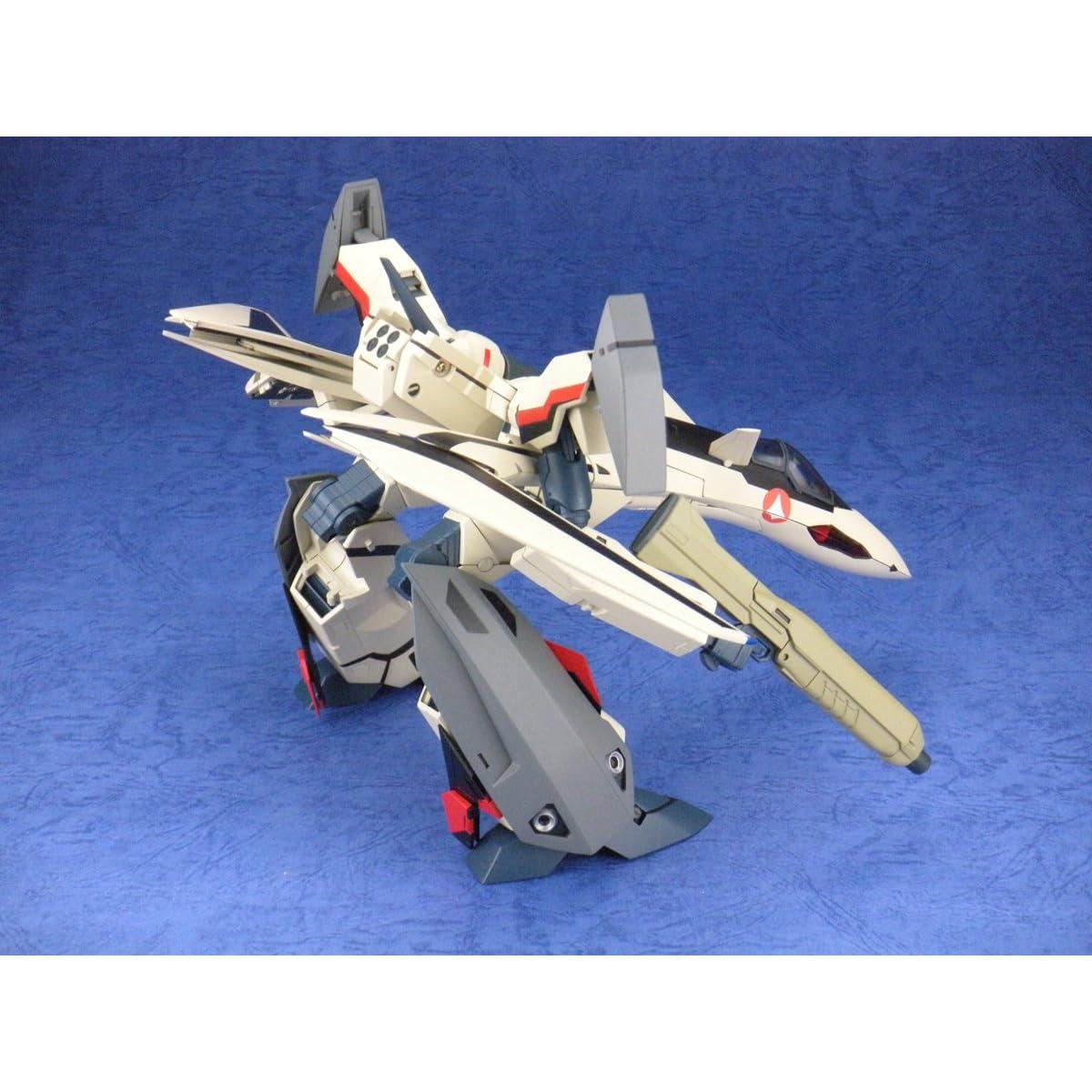 マクロスプラス 1/60 完全変形 YF-19 with ファストパック 塗装済み完成品