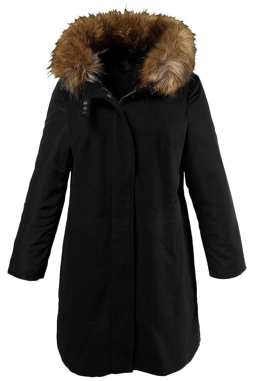 Ulla Popken Damen Mantel 701449 große Größen jetzt bestellen