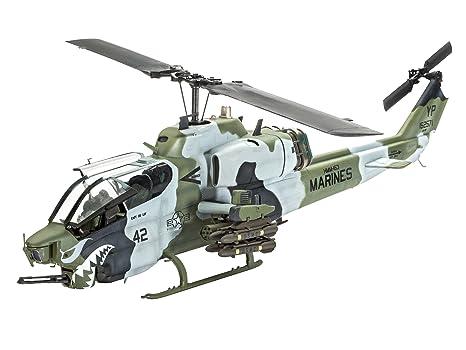 Revell - 04943 - Maquette D'aviation - Bell Ah-1w Super Cobra - Echelle 1/48 - 128 Pièces