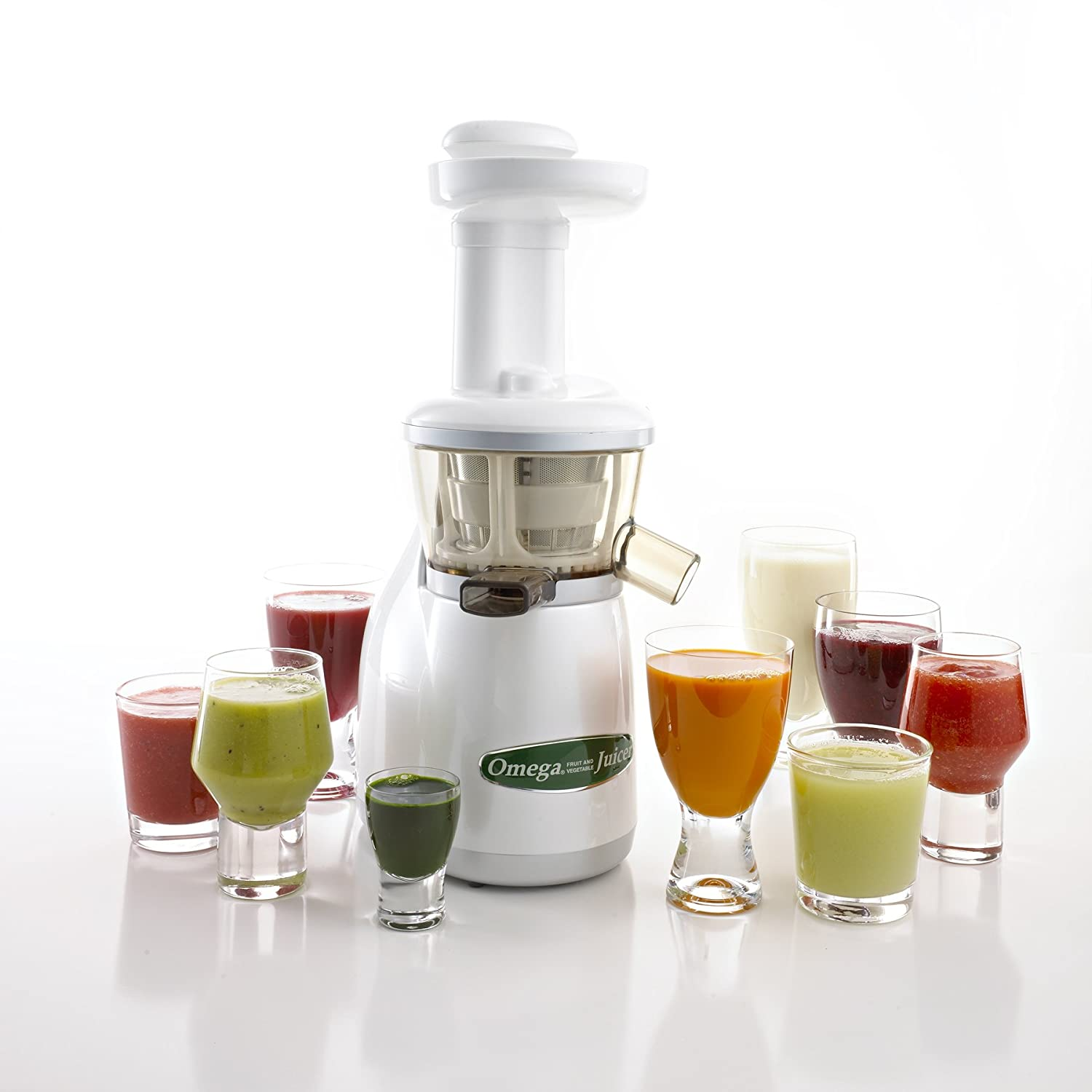 Omega VRT330 Dual-Stage Vertical Single-Auger Low-Speed Juicer