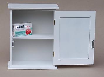 wundersch ner apothekerschrank medizinschrank wei im. Black Bedroom Furniture Sets. Home Design Ideas