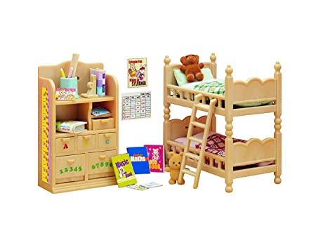 Sylvanian Families - 2926 - Poupées Et Accessoires - Mobilier Chambre Enfants - Sylvanian