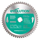 Evolution Power Tools 230BLADEAL Aluminum Cutting Saw Blade, 9-Inch x 80-Tooth (Tamaño: 9 Inch)