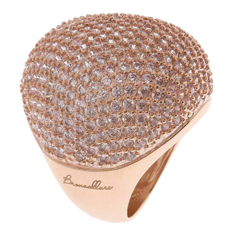Bronzallure Damen-Ring Bronze mit Zirkonia; Gewicht 15,8g WSBZ00191 als Weihnachtsgeschenk kaufen