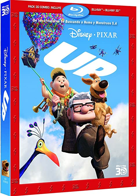 disney pixar up blu ray 3d 2d spanien import pete. Black Bedroom Furniture Sets. Home Design Ideas