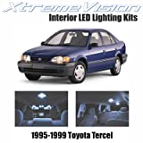 XtremeVision Toyota Tercel 1995-1999 (2 Pieces) Cool White Premium Interior LED Kit Package + Installation Tool