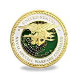 US Navy Seals Challenge Coin Naval Special Warfare Command Military Coin (Color: Navy Seals Coin)