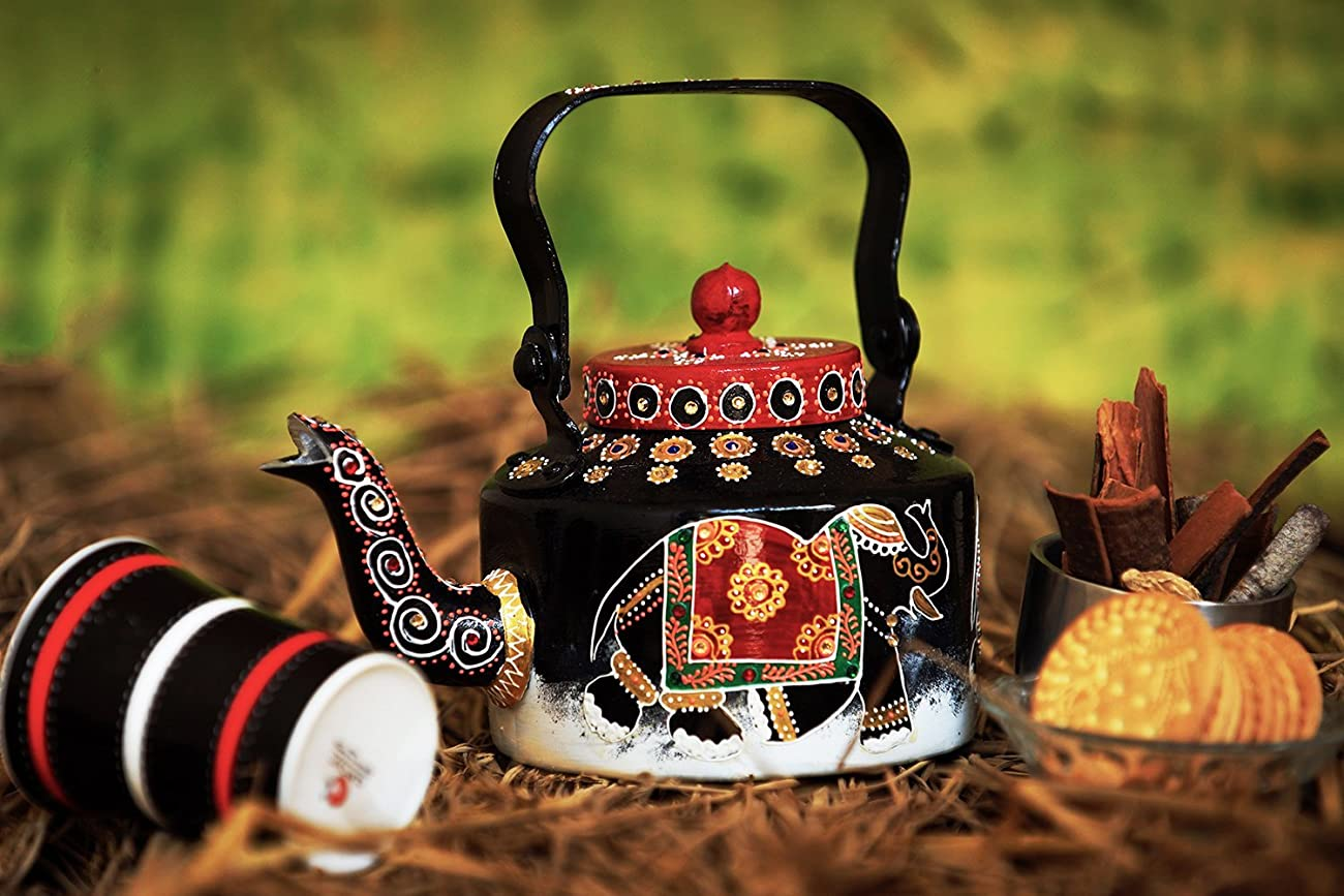 Decorative Teapot Kettle Kitchen Home Decor Vintage Style The Royal Reprise 3