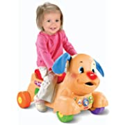 Fisher-Price Laugh and Learn Stride to Ride Puppy