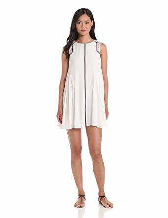 findersKEEPERS Women's Here We Go Dress, White, X-Small
