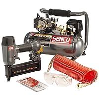 Senco PC0947/FP18KIT FinishPro 18 5/8 in - 2 in 18-Gauge Brad Nailer/Compressor Kit