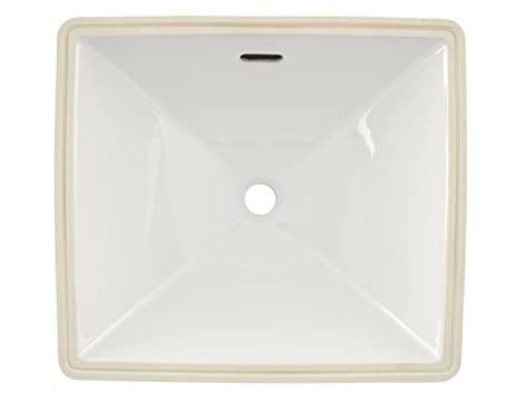 TOTO Lt624G#01 Legato 17 Inch X 15 Inch Undercounter Lavatory With Sanagloss, Cotton White