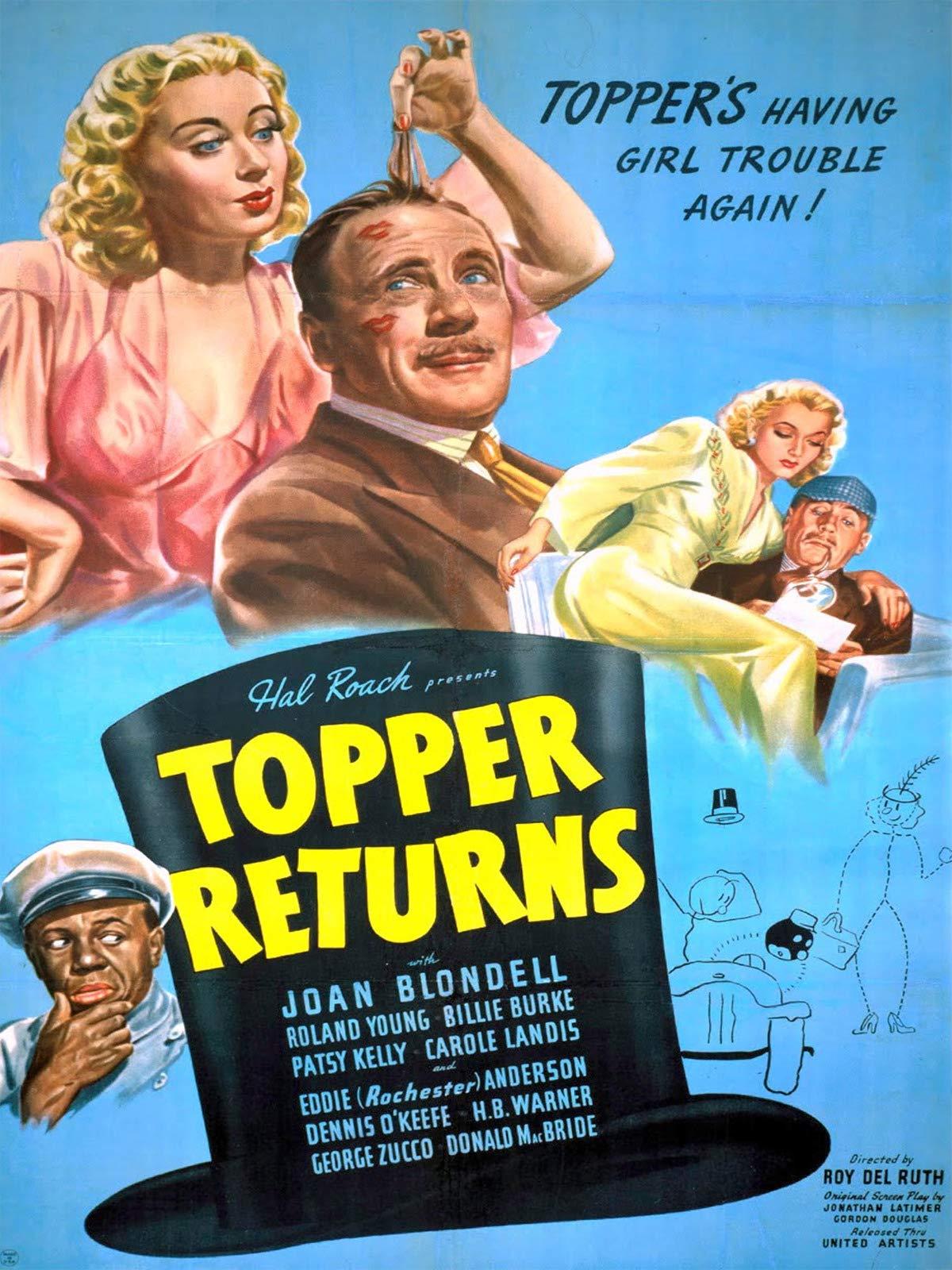 Topper Returns on Amazon Prime Instant Video UK