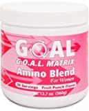 GOAL - G.O.A.L. MATRIX Amino Acids Complex Powder for Women - L-Glycine L-Ornithine L-Arginine L-Lysine Combination Anti-Aging Blend - Best NO2 Supplement Formula - Nitric Oxide Boosters - Fruit Punch 360 Grams