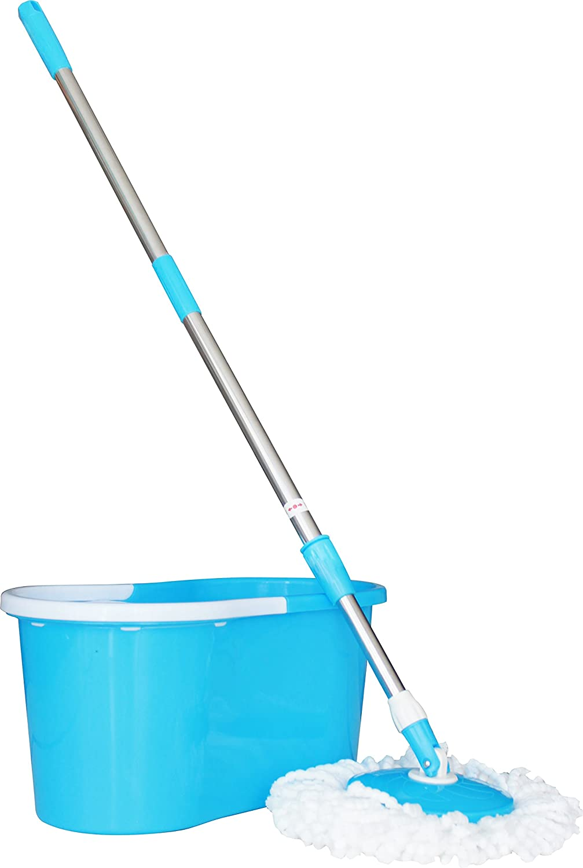 Princeware 6207 360-Degree Magic Mop (Blue)